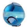 Glass Lamp Bead 10mm Aqua